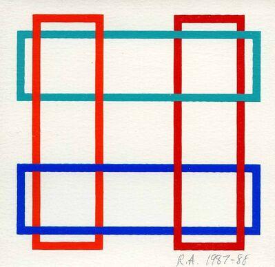 Richard Anuszkiewicz, 'Annual Edition', 1987