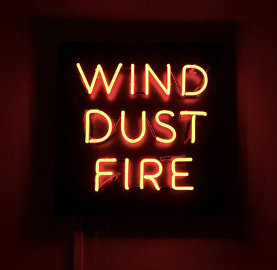 Frank Perrin, 'WIND, DUST, FIRE (NEON), ed. of 5 + 2 AP ', 2017