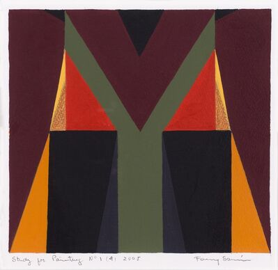 Fanny Sanin, 'Study for painting N.° 1 (4)', 2005