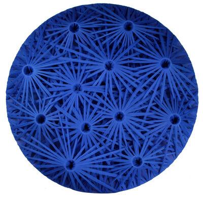 Emilio Cavallini, 'Linear Fractal Blue', 2015