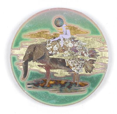 Masatake Kozaki, 'KUROSHITANASHIYAGIZOU (Sea slug-Goat-Elephant) ', 2020