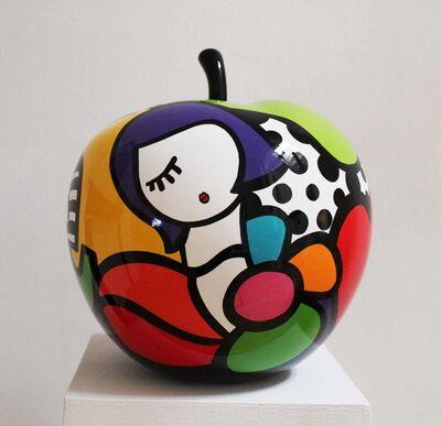 Virginia Benedicto, 'Flower Power Apple', 2017