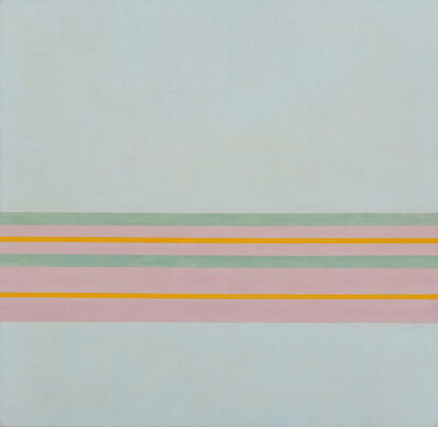 Antonio Calderara, 'Orizzonte pluricromatico (Multi-chromatic horizon)', 1968-1970