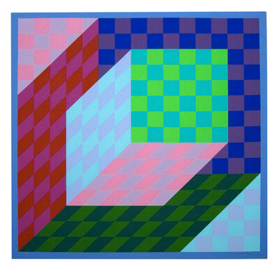 Victor Vasarely, 'Axo Pal', 1974
