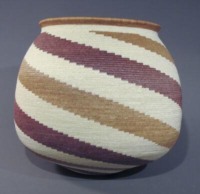 Panama Rainforest Basket Makers, 'Spiral Basket', ca. 2012