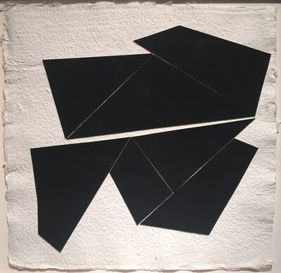 Kenneth L. Greenleaf, 'Black Collage 8', 2014