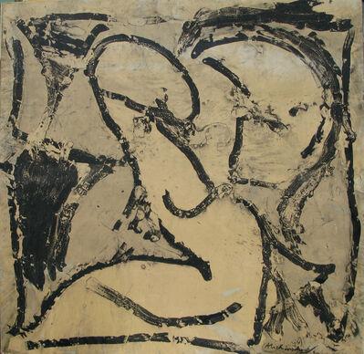 Pierre Alechinsky, 'Noir sur blanc', 1966