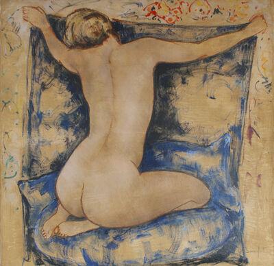 Alain Bonnefoit, 'Le Sofa Blue', 2014
