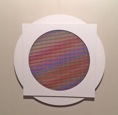 Carlos Cruz-Diez, 'Chromointerference CRN2', 1968