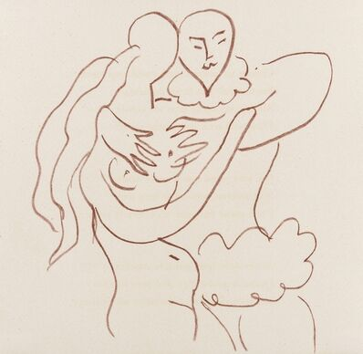 Henri Matisse, 'Untitled (from Florilège des Amours de Ronsard (Duthuit books 25))', 1948