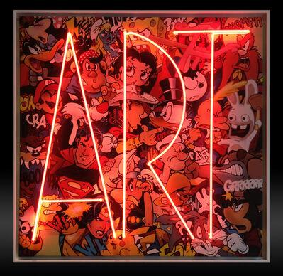 F&G, 'Art Ziza Neon', 2017