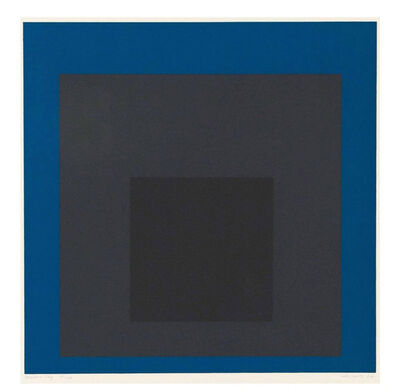 Josef Albers, 'Homage to the Square: Slate and Sky', 1964