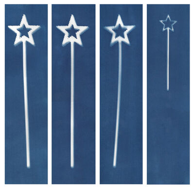 Sarah Irvin, 'Cyanotype Archive: Star Wands', 2019