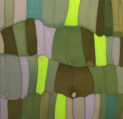Turiya Magadlela, 'Khala, Colour, Color, Imibala, composition in green ii', 2020