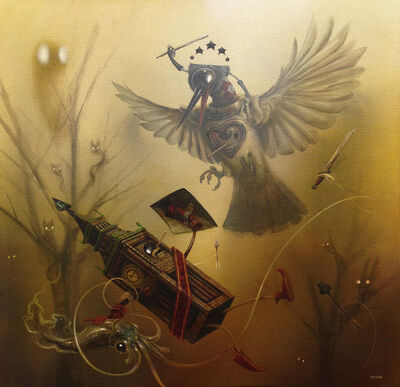 Greg 'Craola' Simkins, 'Killing Time', 2014