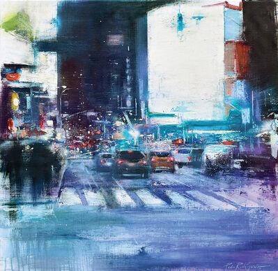 Pedro Rodriguez Garrido, 'Night on 7th Avenue, New York', 2018
