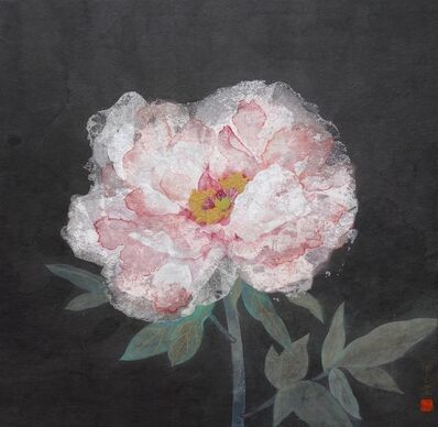 Hiroko Takeda, 'a winter-flowering peony', 2018