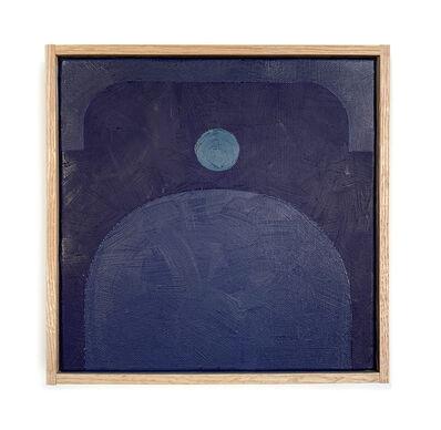 Carla Weeks, 'Monochrome Study in Blue 1', 2020