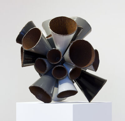 James Angus, 'Grayscale Pipe Burst', 2015
