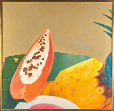 Ana Mercedes Hoyos, 'Untitled (Pineapple and Passion Fruit)', 1990