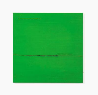 Herbert Warmuth, 'Gelb, Grün, Blau durch Grün', 2019