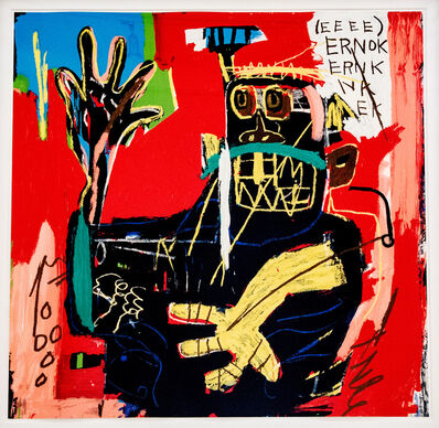 Jean-Michel Basquiat, 'Untitled (Ernok) ', 1982/2001