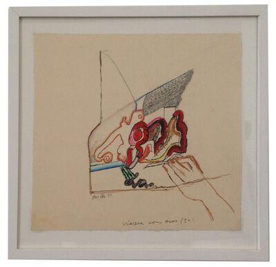 Anna Bella Geiger, 'Vicerais com asas', 1969
