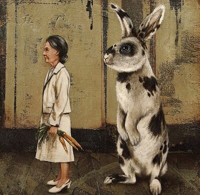 Tyson Grumm, 'The Hare Behind the Heir', 2014