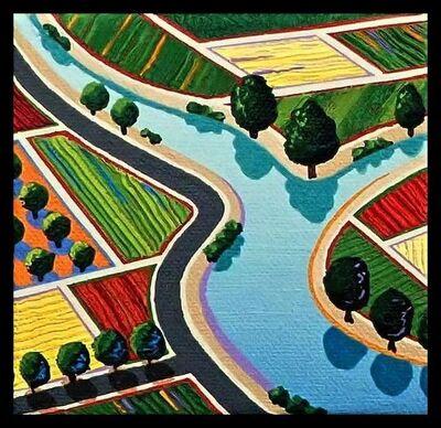 Richard Stein, 'River (Fields)', 2019