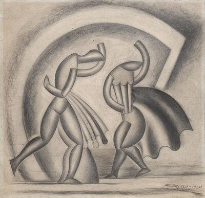 Fortunato Depero, 'Danza del vento', 1920