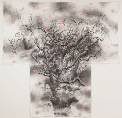 Jim Sullivan, 'Tree #5 (butterflies)', 2013