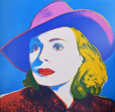 Andy Warhol, 'Andy Warhol, Portrait of Ingrid Bergman With Hat, 1983', 1983