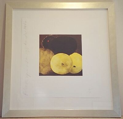 Donald Sultan, 'Five Lemons, a Pear and an Egg', 1994