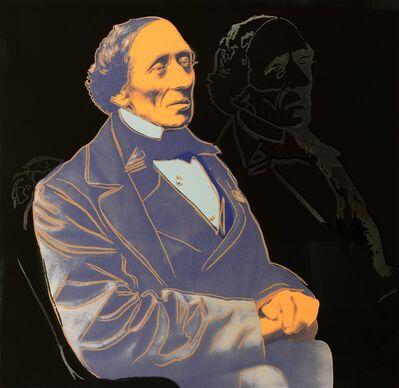 Andy Warhol, 'Hans Christian Andersen.', 1987
