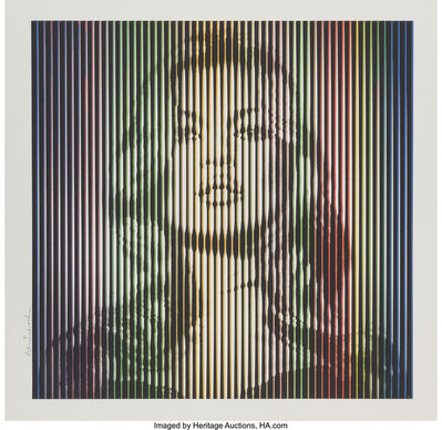 Mr. Brainwash, 'Fame Moss (Bright Rainbow)', 2015