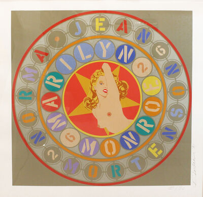 Robert Indiana, 'Metamorphosis of Norma Jean (Marilyn Monroe)', 1996