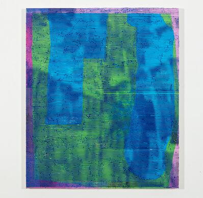Luke Harnden, 'Blue-Green', 2017