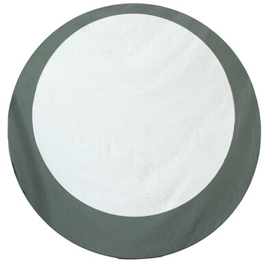 In the style of Fontana Arte, 'Round mirror'