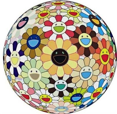 Takashi Murakami, 'Flower Ball Sunflower', 2011