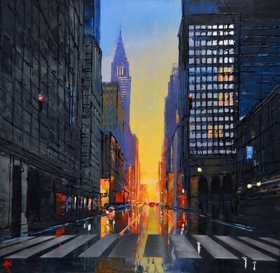 Paul Kenton, 'New York Ablaze', 2019