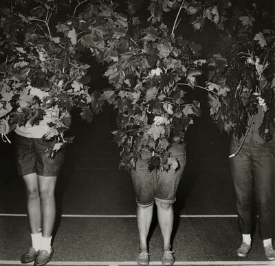 Diane Arbus, 'Camp Lakecrest campers as trees, Dutchess County, NY', 1968