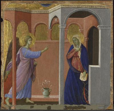 Duccio, 'The Annunciation', 1307/8-1311