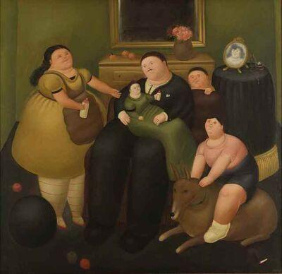 Fernando Botero, 'El viudo', 1968