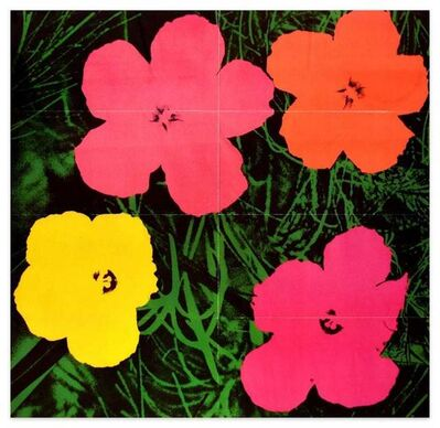 Andy Warhol, 'Flowers Original Mailer', 1964