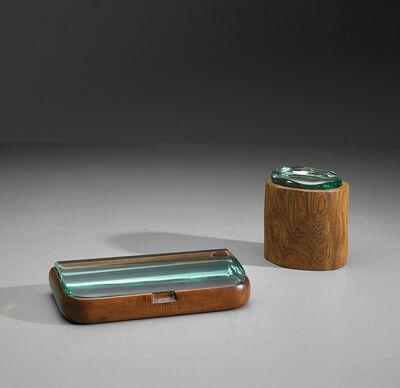 Pietro Chiesa, 'Tobacco box and cigarette box, model no. 1137', circa 1938