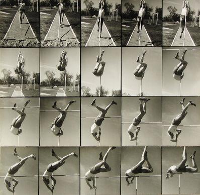Lajos Kassák, 'Pole-vaulter', ca. 1940