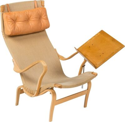 Bruno Mathsson, 'Pernilla 2 Easy Chair with Reading Stand', circa 1969