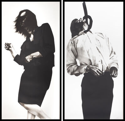 Robert Longo, 'Gretchen and Eric from Men in the Cities', 1985
