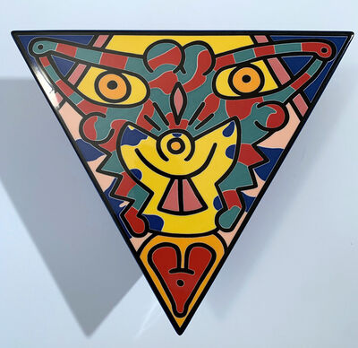 Keith Haring, 'No 2 Spirit of Art, New York TribeCa', 1992