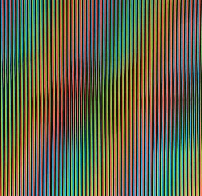 Carlos Cruz-Diez, 'Serie Semana - Viernes', 2013